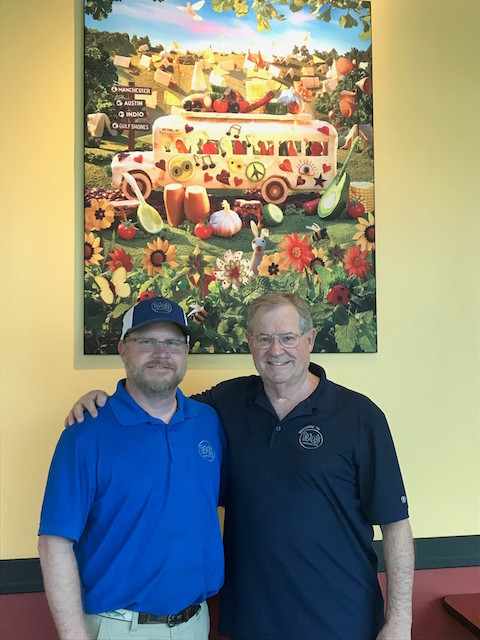 Blake and Eddie Webster, Franchisees of Moe's Southwest Grill