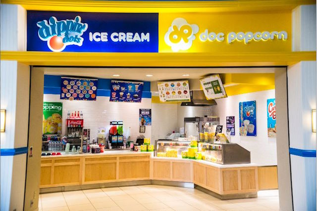 Doc Popcorn and Dippin Dots' Co-Branded Franchise