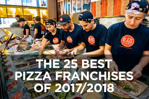 The Best Pizza Franchises of 2017/2018