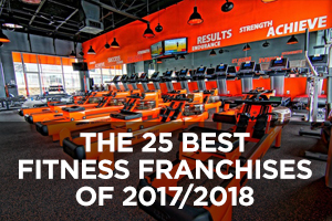 The Best Fitness Franchises of 2017/2018