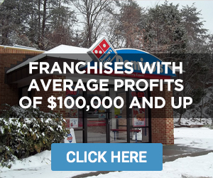 Franchises With Average Profits of At Least $100,000
