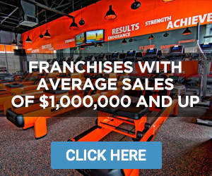 Franchises With Average Sales of At Least $1,000,000