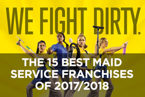 The Best Maid Service Franchises of 2017/2018