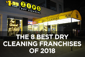 The Best Dry Cleaning Franchises of 2018