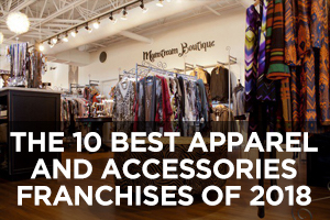 The Best Apparel and Accessories Retail Franchises of 2018