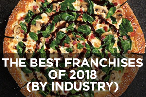 Best Franchises of 2018 By Industry