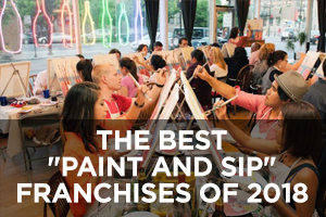 The Best Paint and Sip Franchises of 2018