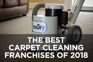 The Best Carpet Cleaning Franchises of 2018