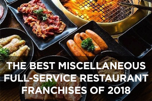 The Best Full Service Restaurant Franchises of 2018
