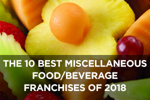 The Best Miscellaneous Food and Beverage Franchises of 2018