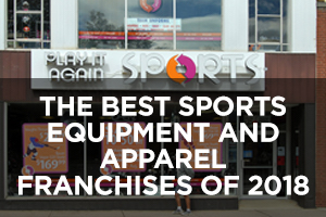 The Best Sports Equipment and Apparel Franchises of 2018
