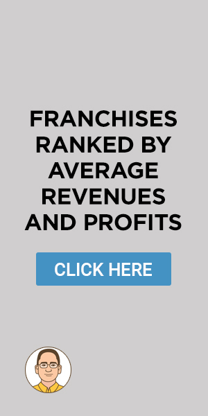 Franchises Ranked by Average Revenues and Profits