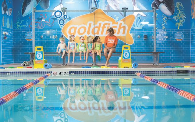 Q&A with Chris and Jenny McCuiston, Co-Founders of Goldfish Swim School